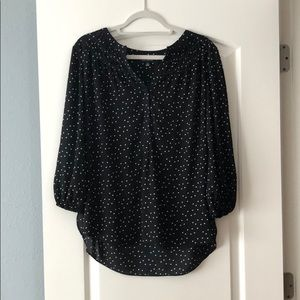Black Max edition Polka dot Blouse